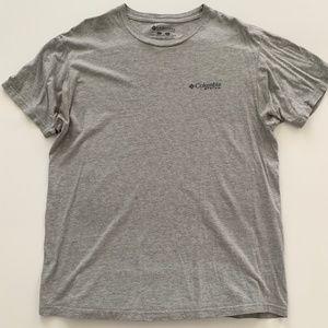 Columbia PFG Grey T Shirt Large